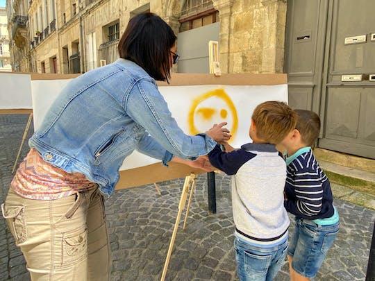 Visite guidée et initiation au street art à Bordeaux en petit groupe