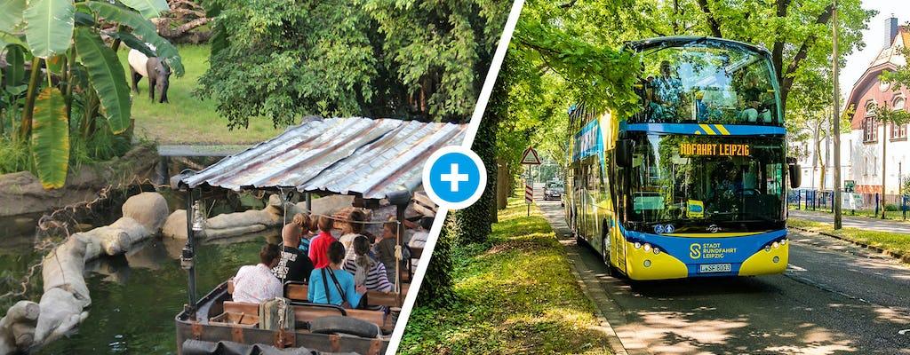 Зоопарк Лейпцига и хоп-он хоп-офф автобусный тур