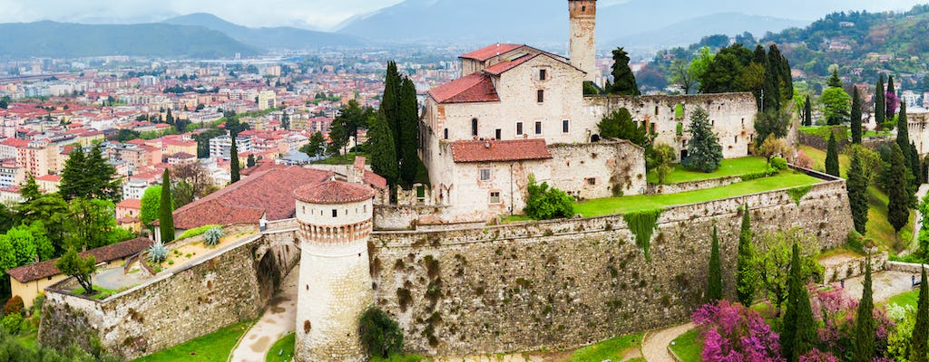Brescia Castle private tour and wine tasting