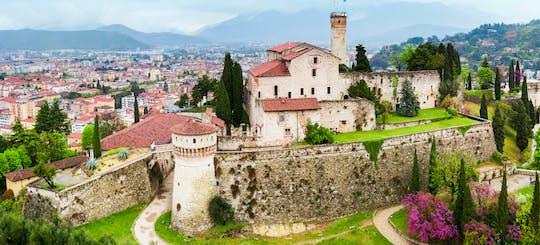 Tour privato del Castello di Brescia e degustazione di vini