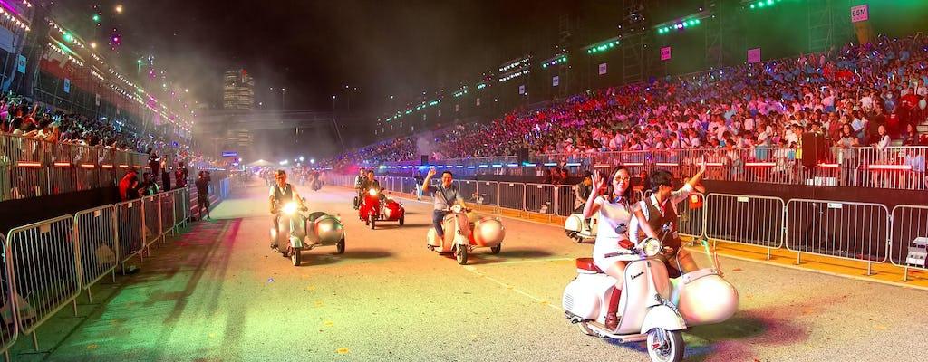 Singapur Formula 1 Street Circuit Sidecar Ride