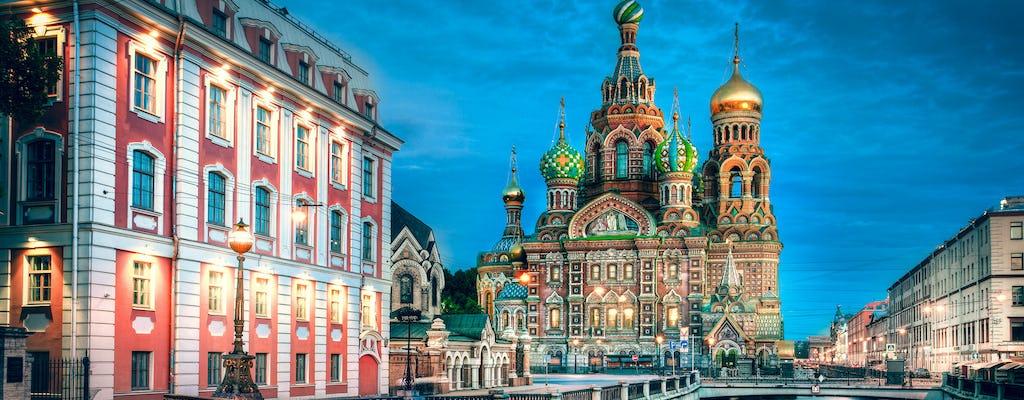 Tour della città di San Pietroburgo di 8 ore all-inclusive