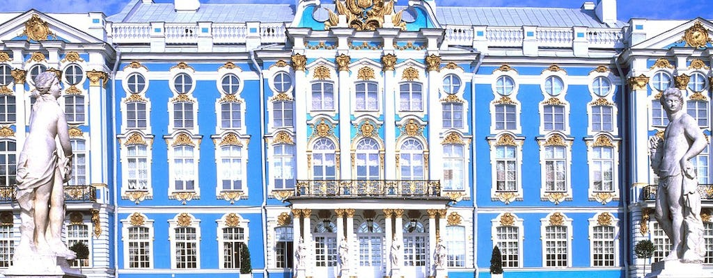 Private skip-the-line Catherine Palace tour with Amber Room
