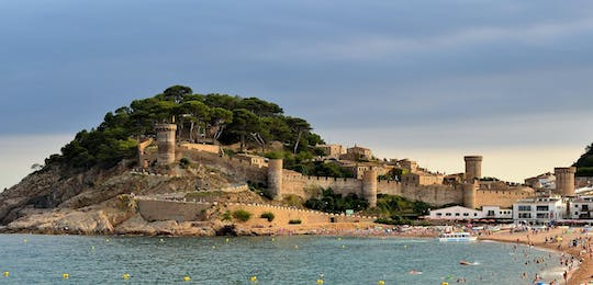 Costa Brava and Tossa de Mar with a panoramic boat ride