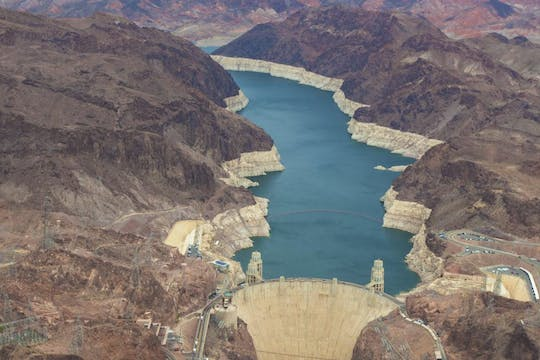 Hoover Dam exterior half day tour from Las Vegas
