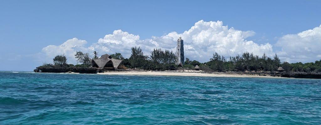 Excursion d'une journée au parc de corail de l'île de Chumbe au départ de Zanzibar