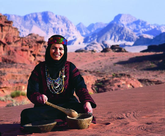 Half-day Wadi Rum tour from Petra
