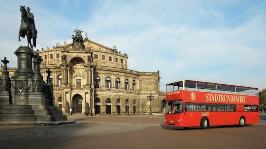 Dresden bus tour with visit of the Semper Opera House