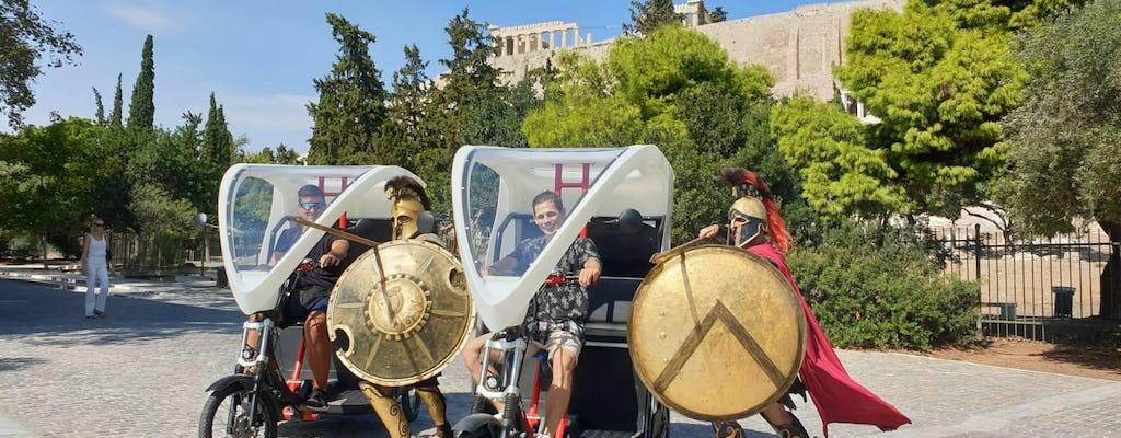 Eco-содружественный трицикл экскурсия на Акрополь и Плака с без очереди билет