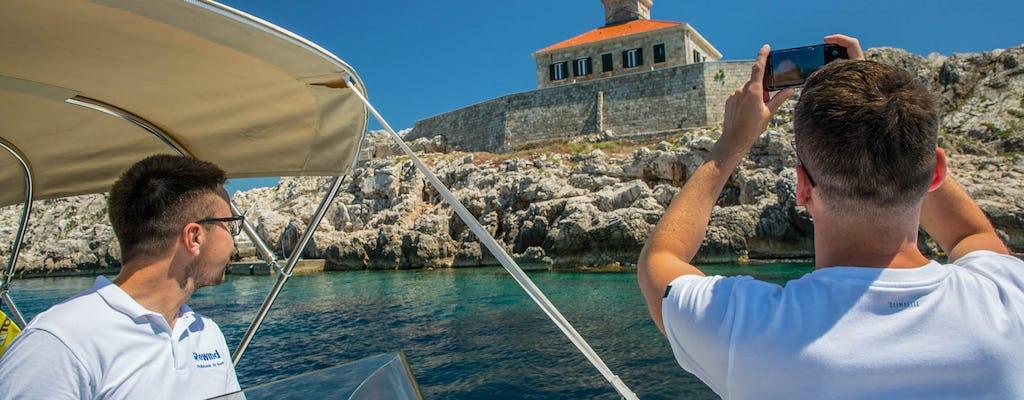 Dubrovnik seaside panorama and city walls cruise