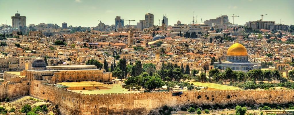 Viagem de Jerusalém nas pegadas de Jesus de Jerusalém