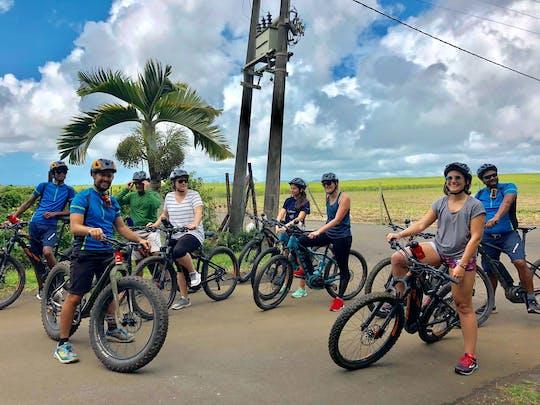Passeio de E-bike nas Maurícias em Souillac