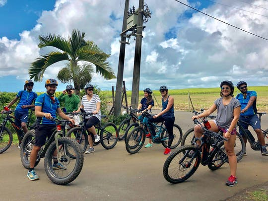 Mauritius E-biking tour in Souillac