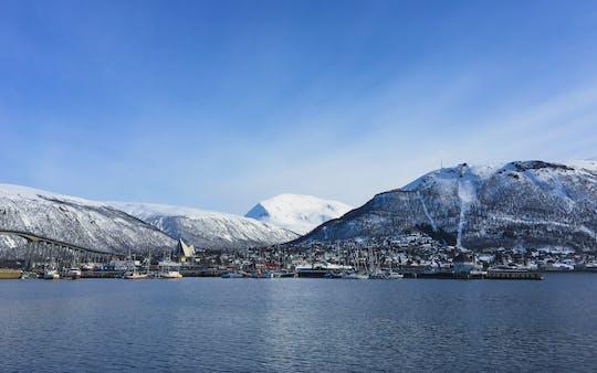 Passeggiata della città di Tromsø