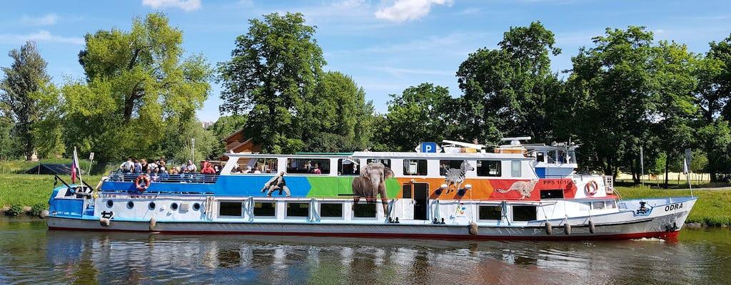 Boleto de admisión al zoológico de Praga con el traslado en barco de crucero