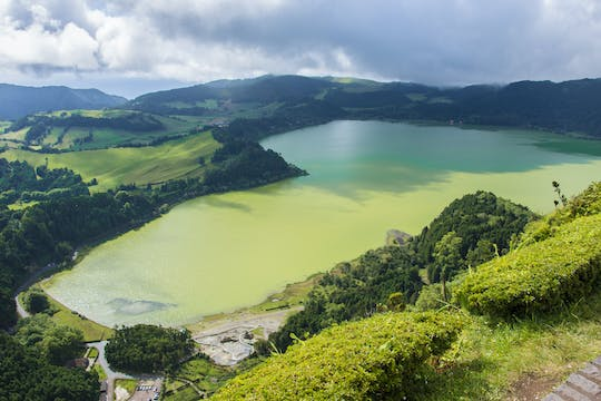 Full-day van tour to Furnas