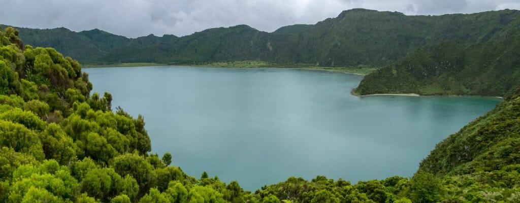 Ganztägige Wanderung durch Lagoa do Fogo