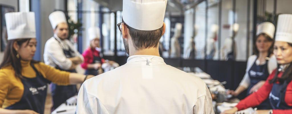 Cooking class Ferrandi at Galeries Lafayette Paris