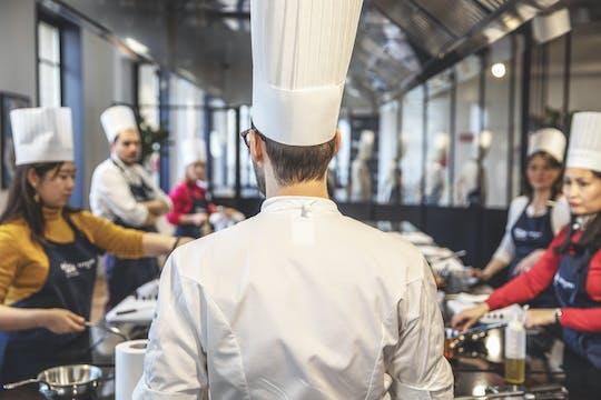 Lekcja gotowania Ferrandi w Galeries Lafayette Paris