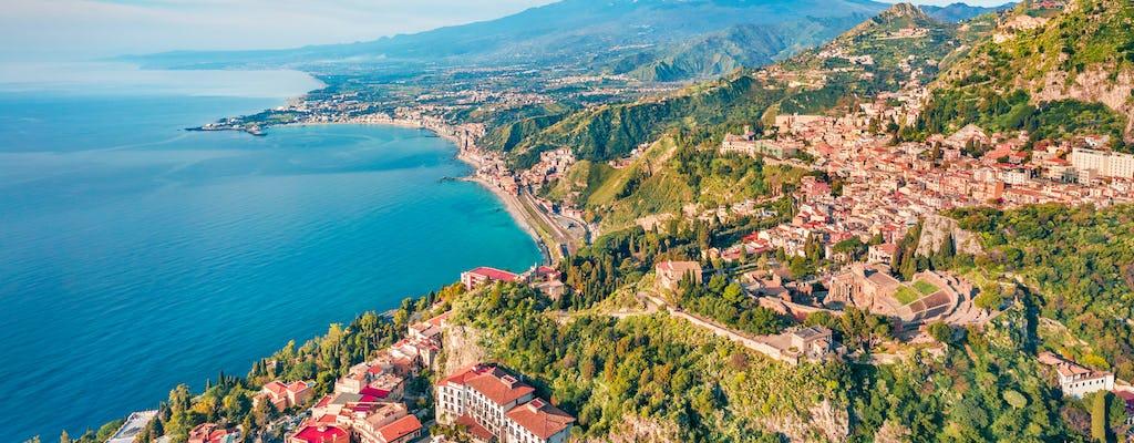 Tour privato Etna e Taormina da Palermo e Cefalù