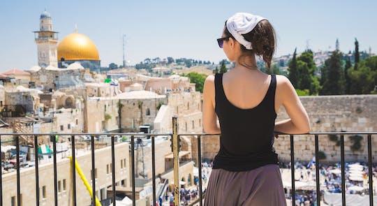 Jerusalem tour in the footsteps of Jesus from Tel Aviv