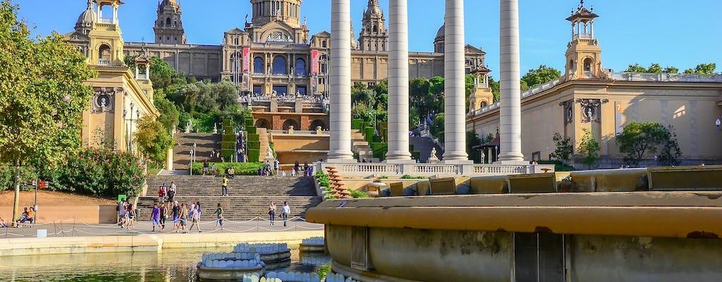 Канатная дорога в Барселоне, Монжуик, посетить замок и Волшебный фонтан шоу