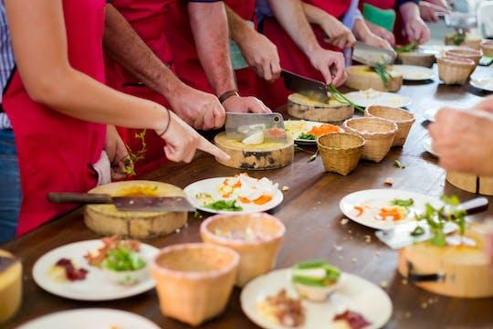Clase de cocina sátvik y degustación de comida en Jaipur