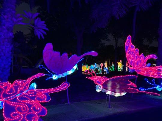 Bilety na Dubai Glow Garden