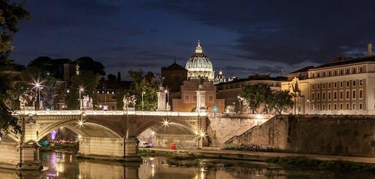 Passeio noturno por Roma com pizza e gelato