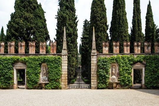 Entrance tickets to Giusti Garden
