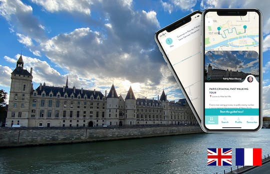 Paris criminal past  tour with guide on your smartphone