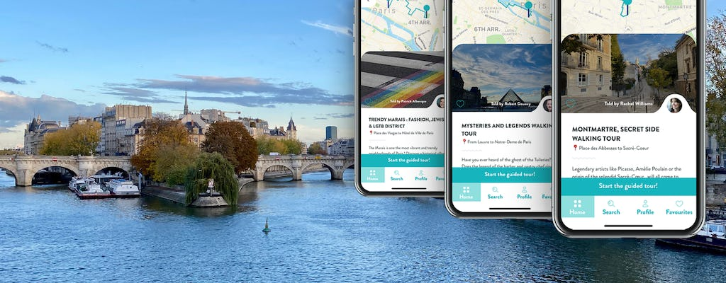 Best of Paris, 3 audioguided tours on your smartphone
