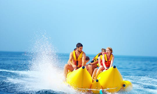 Private banana boat tour in Aqaba
