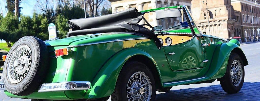 Частная экскурсия по Риму купить старинный автомобиль