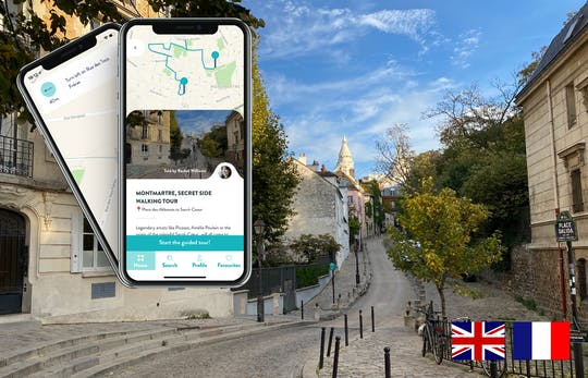 Montmartre guided tour on your smartphone
