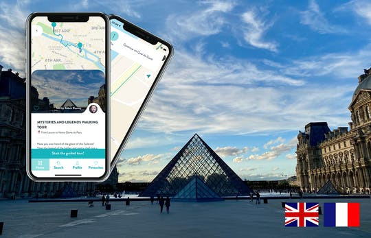 Paris mysteries and legends tour with guide on your smartphone