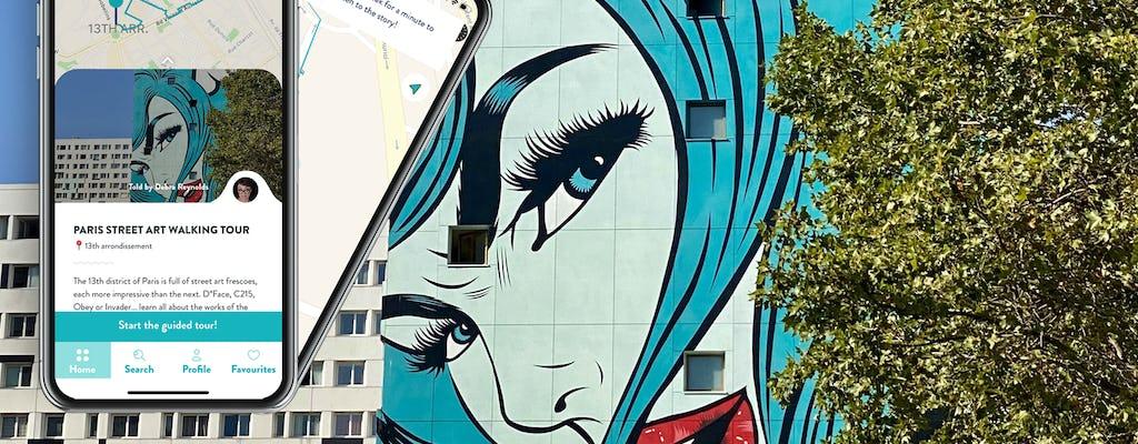 Paris Street Art Tour mit Guide auf Ihrem Smartphone