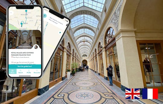 Royal Palace and Covered Passages with audioguide on your smartphone