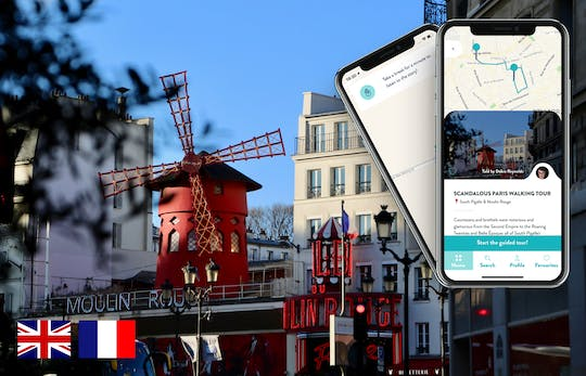 Scandalous Paris tour with guide on your smartphone