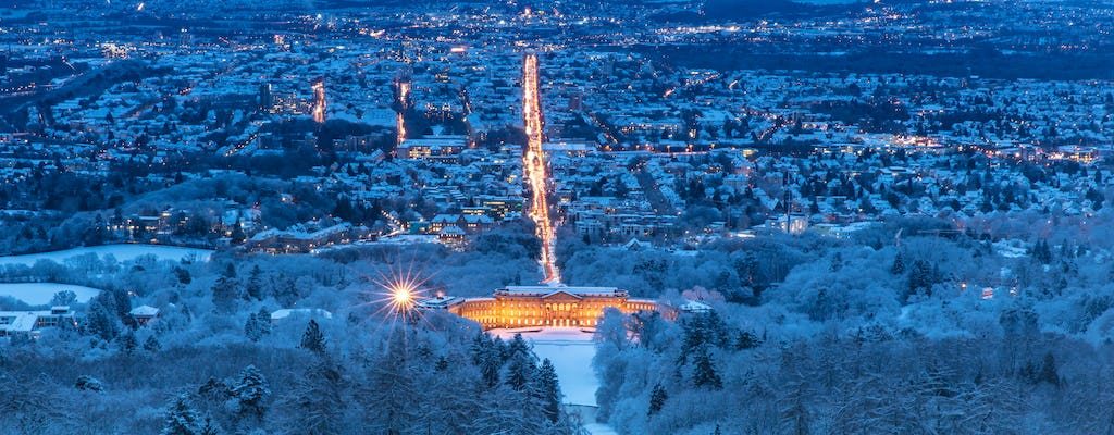 Bus city tour of Kassel in the Christmas glow