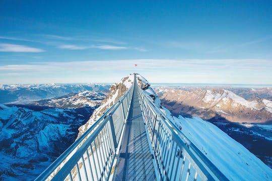 Retourticket voor de kabelbaan naar Glacier 3000