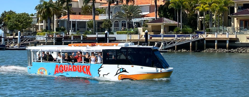 Aquaduck Sunshine Coast 1 Hour City Tour and River Cruise