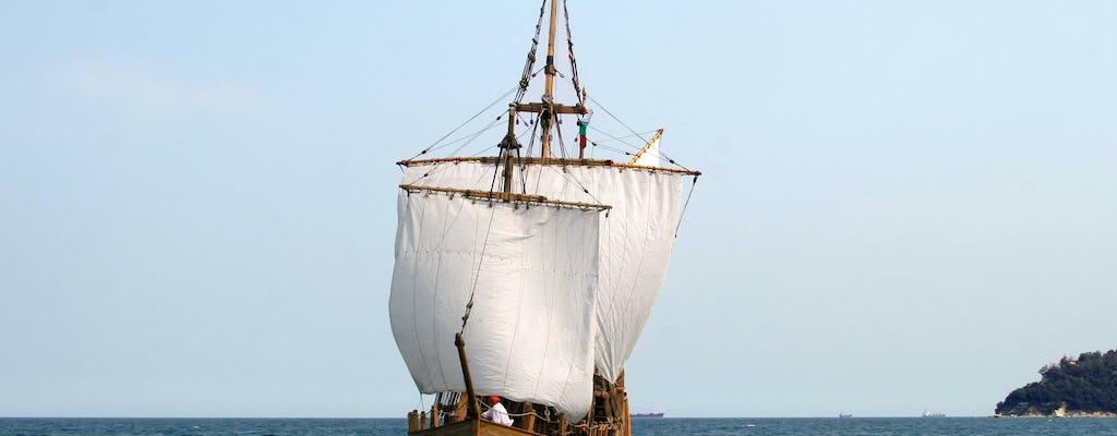 Piratenboot vanaf Obzor