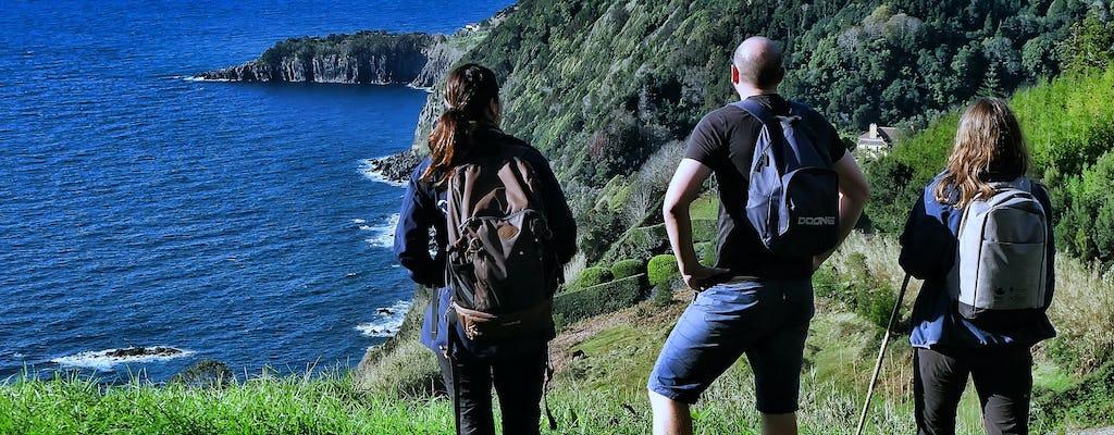 Tour de senderismo a Trilho do Agrião desde São Miguel
