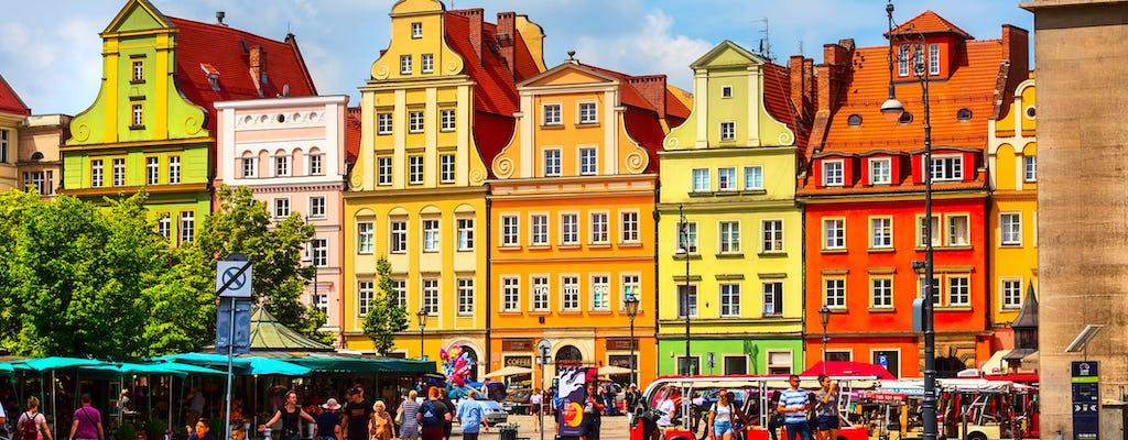 Tour a piedi della città vecchia di Breslavia di 2,5 ore