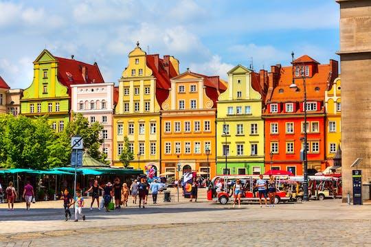 Passeio a pé de 2 horas e meia pela cidade velha de Wroclaw