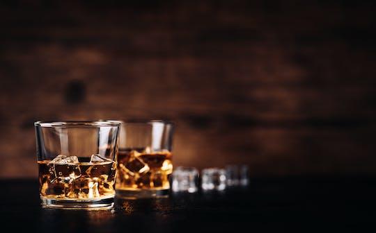 Whiskytasting im Dunklen mit Führung durch das Dunkelkaufhaus