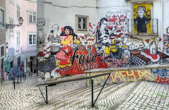 Lisbon street art private tour