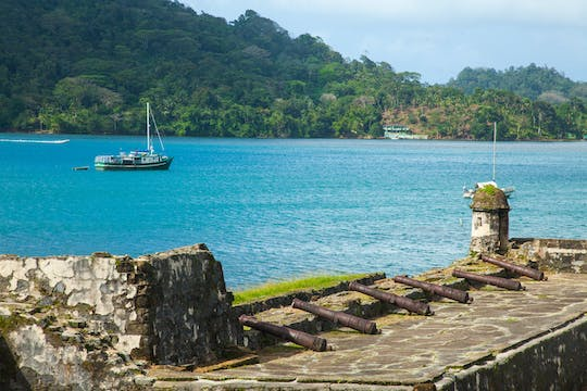 Portobelo and white sand beach tour