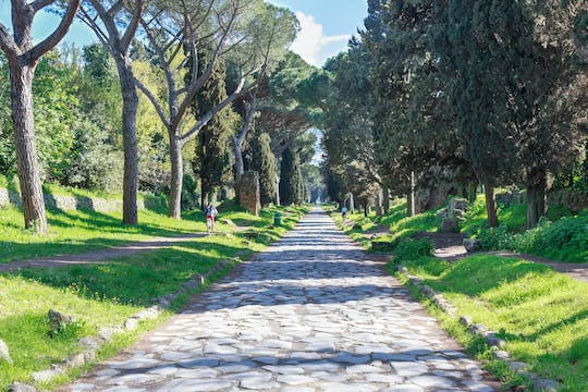 Private Appian Way e-bike tour with wine tasting